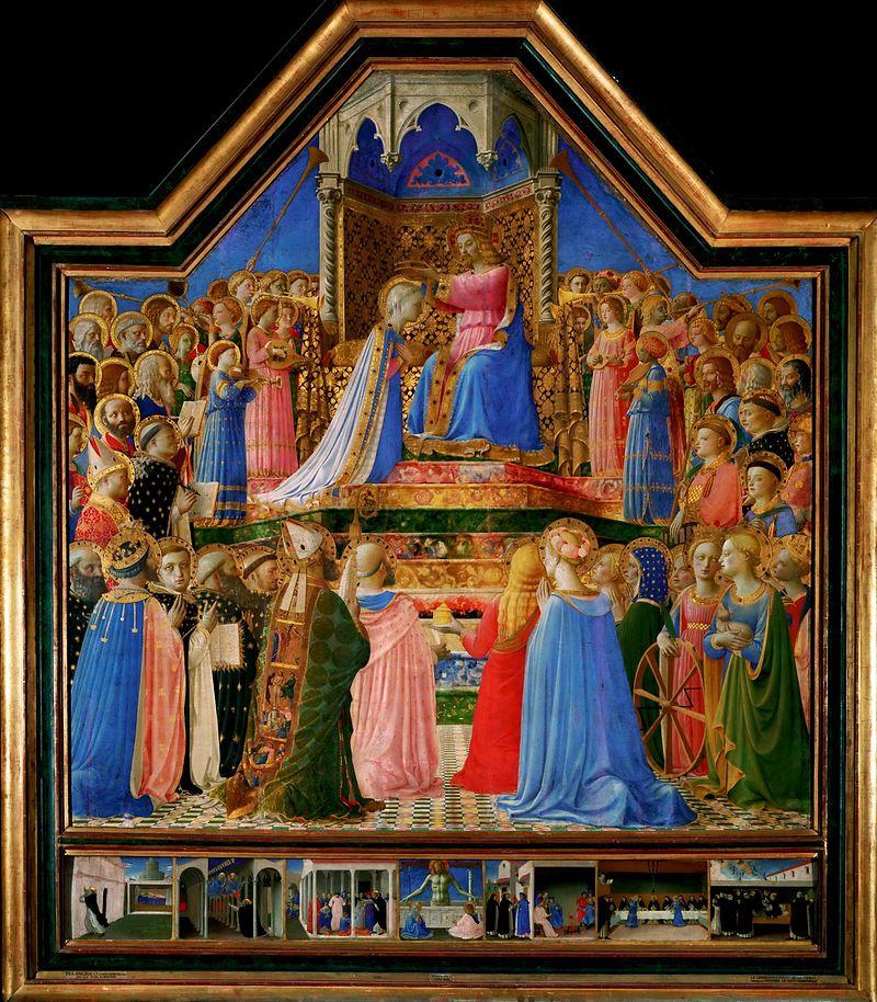 Koronacja Marii Fra Angelico