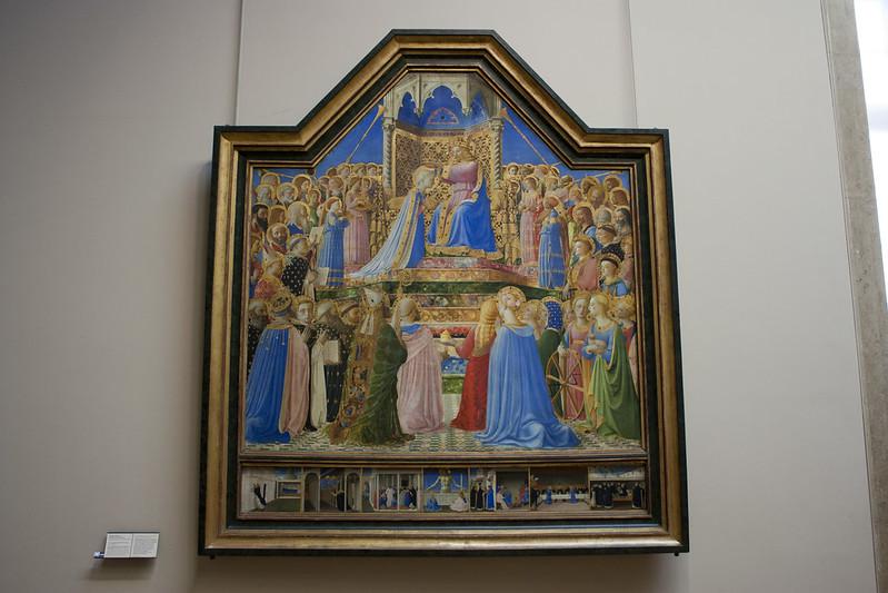 Koronacja Marii w Luwrze
