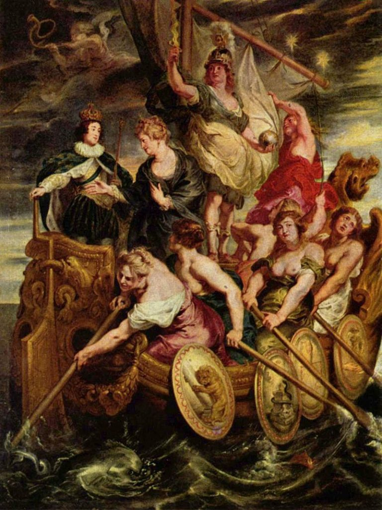 Historia Marii Medycejskiej