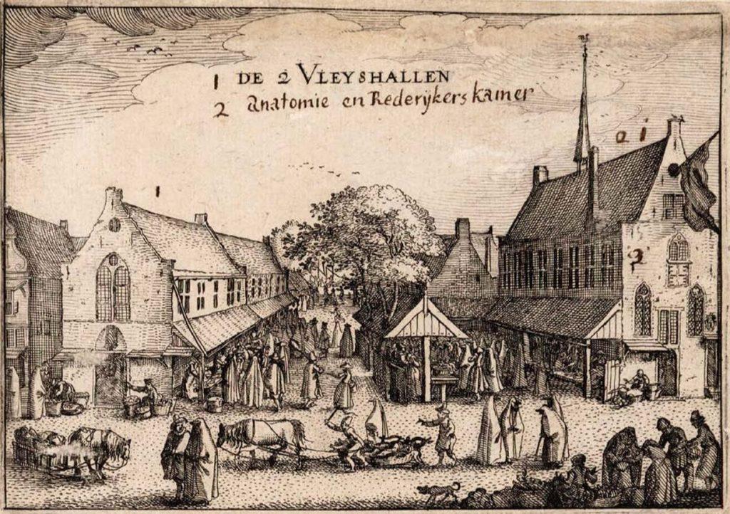 rzeźnia w Amsterdamie, Rozpłatany wół