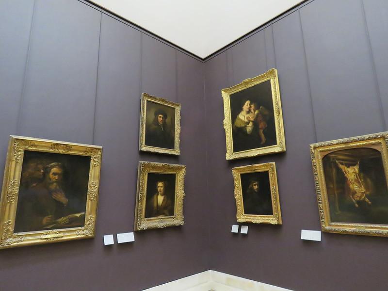 obrazy Rembrandta w Luwrze, wśród nich Rozpłatany wół