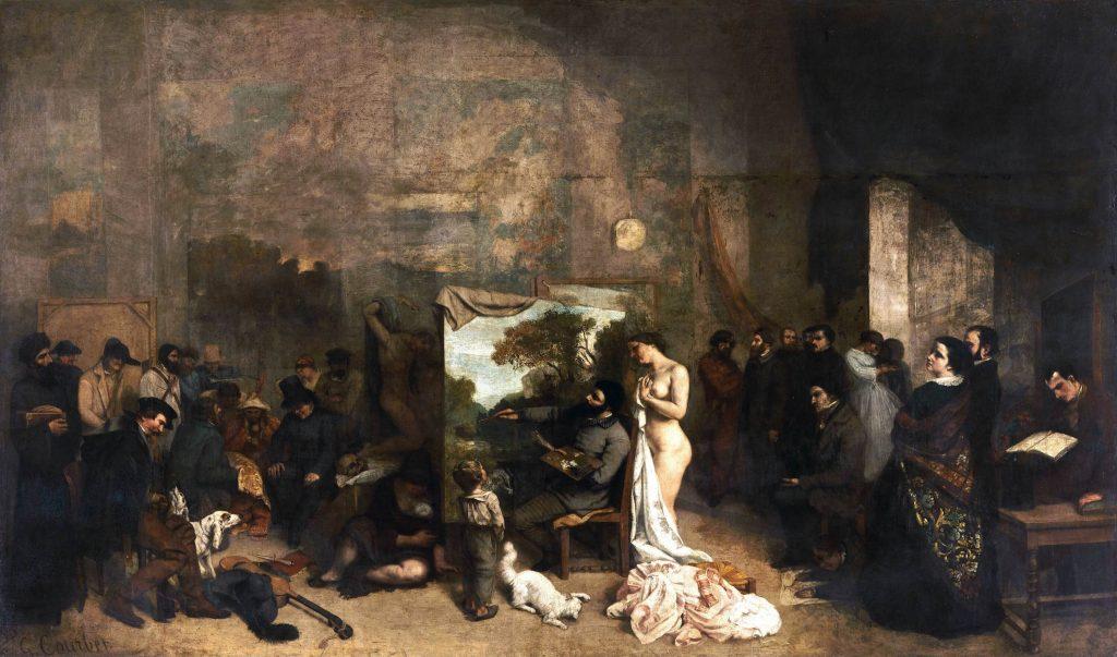 Atelier malarza, pracownia artysty