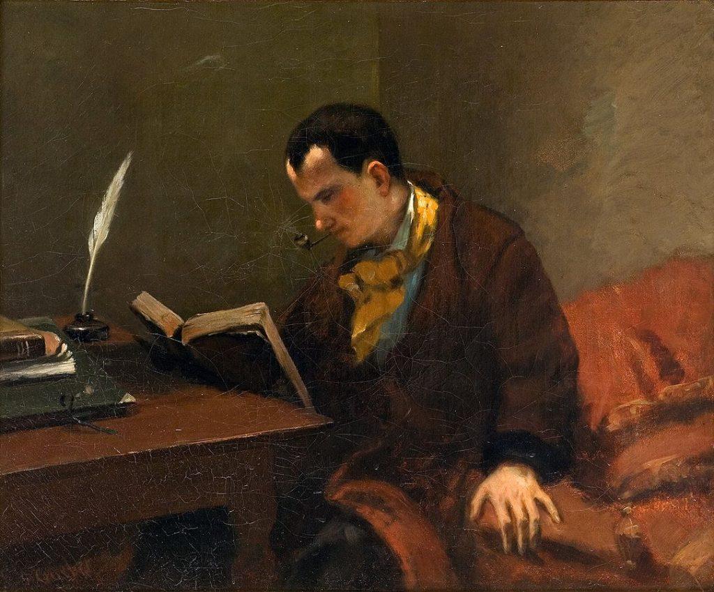 Courbet, portret Baudelaire'a