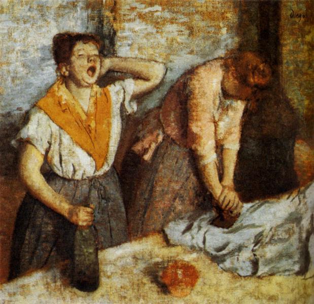 Edgar Degas, prasowaczki