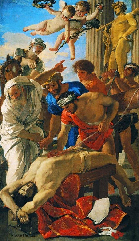 Męczeństwo Świętego Erazma - Nicolas Poussin