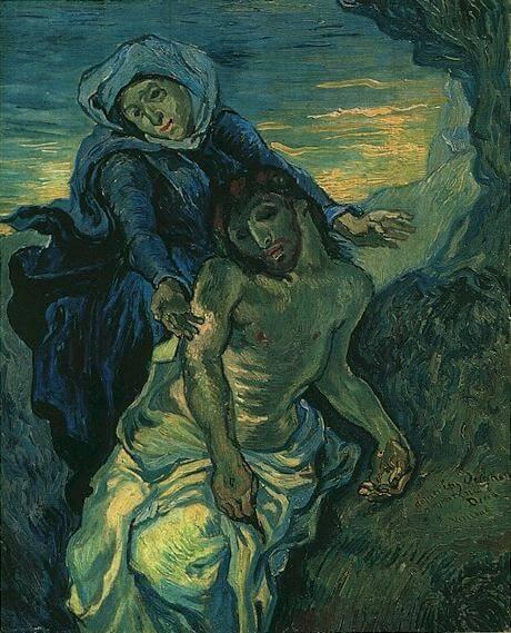 Vincent van Gogh Pieta Muzea Watykańskie