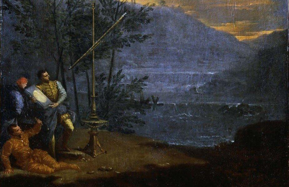 Donato Creti, obserwacje astronomiczne